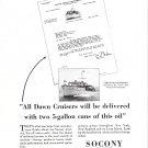 1929 Standard Oil Company Ad- Photo of Dawn 45' Yacht