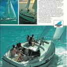 1970 Morgan Out Island 33 Yacht Color Ad- Nice Photo