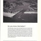 1971 Chubb Insurance Ad- Nice Photo of Manasquan Inlet Intercoastal Waterway