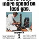 1970 Kiekhaefer Mercury Merc 1000 Outboard Motor Color Ad- Nice Photo