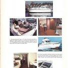 1968 Concorde Yachts 2 Page Color Ad- Nice Photos of 35 Sedan or Express