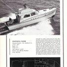 1968 Matthews 45' Sportfishing Cruiser Yacht Review & Specs- Nice Photo