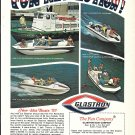 1970 Glastron Boat Company Color Ad- Nice Photos of 4 Models