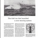 1944 Sperry Gyroscope Co Ad- Great 1932 Photo of Coast Guard Cutter Thetis