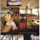 1970 Stamas V26 Americana Sedan Cruiser Yacht Color Ad- Nice Photos