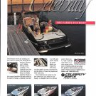 1996 Celebrity Boats Color Ad- Nice Photos of 4 Models