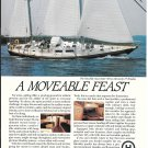 1985 Henry Hinckley Sou' Wester 59 Yacht Color Ad- Great Photo