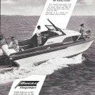 1957 Owens Yacht Company Ad- Nice Photo of 22' Cruiser