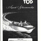 1960 Tod Boats Ad