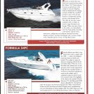 2004 Formula 34PC & Larson Cabrio 370 New Boats Reviews & Specs- Nice Photos