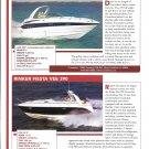 2004 Crownline 270 CR & Rinker Fiesta Vee 390 New Boats Reviews & Specs-Nice Photos