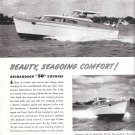 1955 Richardson 30' Express Yacht Ad- Great Photo