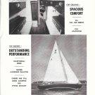 1955 Thomas Knutson Shipbuilding Ad- Nice Photo Knutson 35- Specs