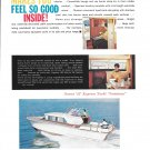 """1962 Owens 35' Express Yacht """"Jamaican"""" Color Ad"""