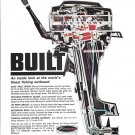 1967 Kiekhaefer Mercury Outboard Motors Color Ad- Nice Photo
