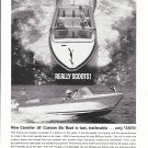 1962 Chris- Craft Cavalier 16' Custom Ski Boat Ad- Nice Photo