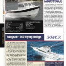 2006 Skipjack & Osprey 26 New Boats Reviews & Specs-Nice Photos