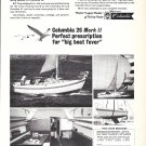 1970 Columbia 26 Mark II Yacht Ad- Nice Photos