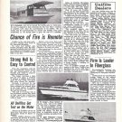 1970 Uniflite Boats Ad- Photos of 36'- 27' & 36' Houseboat