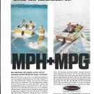 1964 Kiekhaefer Mercury MerCruiser Stern Drives Color Ad- Nice Photo