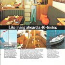 1971 Columbia 34 Yacht Color Ad- Nice Photos