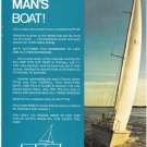 1971 Plastrend Corp PT 30 Yacht Color Ad- Nice Photo