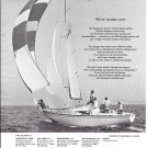 1971 Michel Dufour USA Yachts Ad- Nice Photo of 30' Arpege