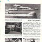 Old Tollycraft 50 Yacht Ad- Nice Photos