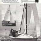 1975 AMF Alcort Sailboat Ad- Nice Photo
