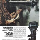 1974 Mercury 85 HP Outboard Motors Color Ad-Nice Photo-Tony Allbright