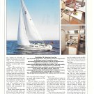 1988 Dehler 38 Yacht Review- Specs- Nice Photo