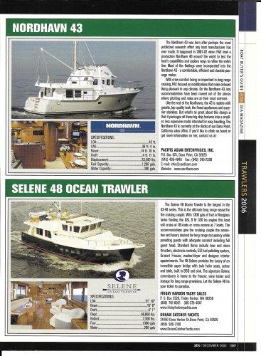 2006 Nordhavn 43 & Selene 48 New Yachts Reviews & Specs