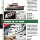2006 Camano CT-41 & Nordic 42 New Yachts Reviews & Specs- Nice Photos