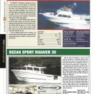2006 Skipjack 30 & Ocean Sport Roamer 30 New Yachts Reviews & Specs-Nice Photos