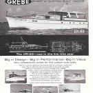 1966 Henry Grebe Yachts Ad- Nice Photos of 6 Models