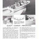 1966 Stamas V-26 Americana Boat Ad- Nice Photos
