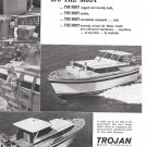 1966 Trojan 42' Motor Yacht Ad- Nice Photos- Hot Girl
