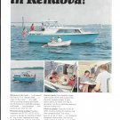 1966 Grumman Cruisers Color Ad- Nice Photos of Rendova