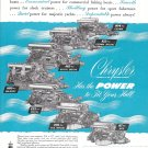1950 Chrysler Marine Engines Ad- Photo of 7 Models