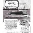 1953 Nordberg Marine Engines Ad- Nice Photo of 36' Prowler Yacht