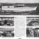 1953 Holland American Yachts Ad- Nice Photos of 64' Caribbean