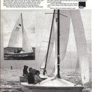 1974 AMF Alcort Sunbird Sailboat Ad- Great Photo