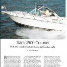 1997 Tiara 2900 Coronet Yacht Review & Specs- Nice Photos