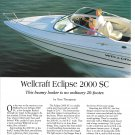 1997 Wellcraft Eclipse 2000 SC Yacht Review & Specs- Nice Photos