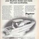 1976 Bayliner Marine Corp Ad- Photos of 2550- 1950-2350- 2150