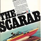 1976 Wellcraft Marine Corp Color Ad- Nice Photo 30' Scarab