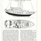 1980 Lancer 44 Motorsailer Review & Specs