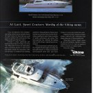 1996 Viking Yachts Color Ad- Nice Photo of 58' Sport