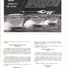 1962 Grady- White Boats Ad- Nice Photos of Hatteras- Pacific- Atlantic
