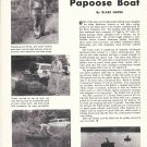 1957 Papoose Boat Review & Nice Photos
